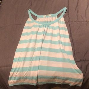 High Neck Old Navy Striped Tank Top